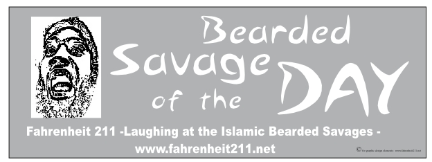 Bearded savage panel