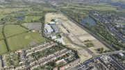 The former May and Baker (Sanofi) industrial site soon to be heavily polluted, with the assistance of the local council by a mosque.  (Picture from Barking and Dagenham Post)