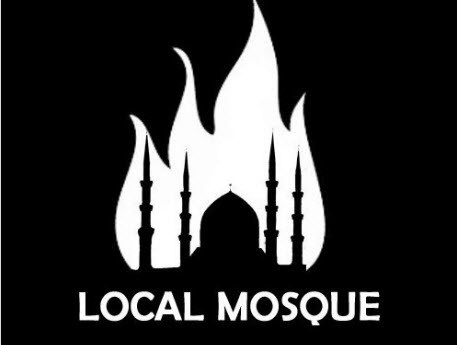 The 'burn mosque' image that Tell Mama seem to be trying to connect to just about everything