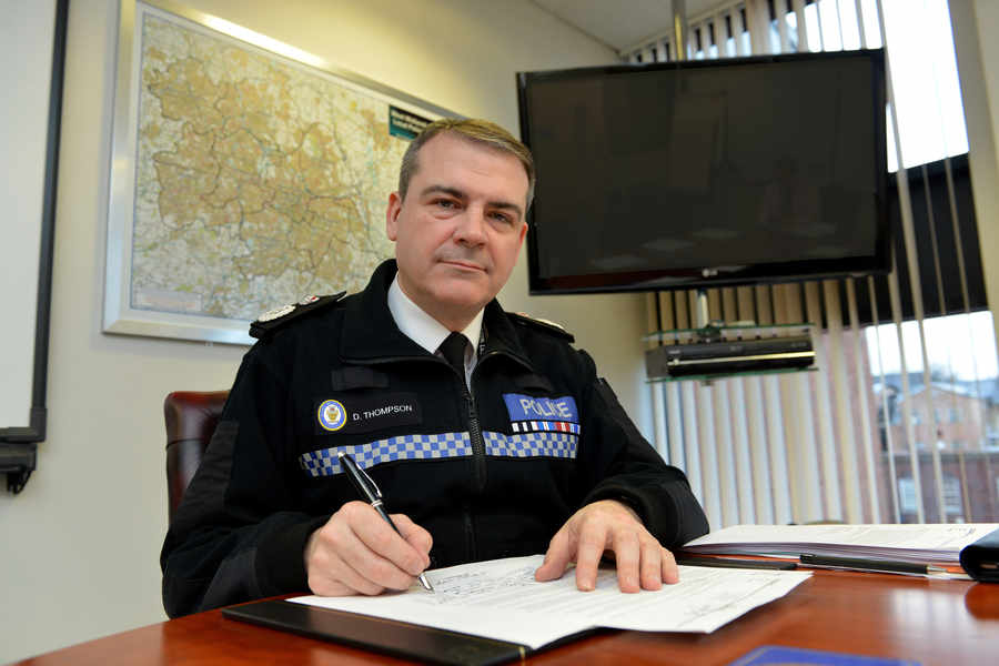 Chief Constable Dave Thompson of West Midlands Police or the 'Burkha Berk' as he should be known.