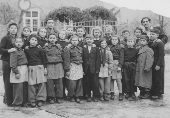Children at a Displaced Persons camp in Germany in 1946
