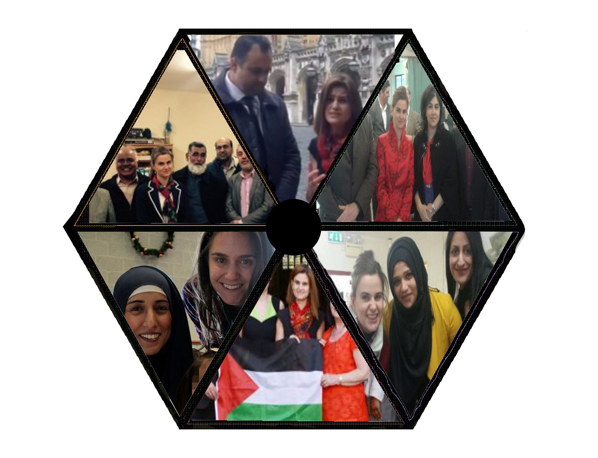 The 'Jo Cox wheel of Islamic appeasement' game graphic
