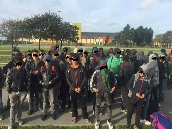 Some of the fake 'children' of Calais whose picture has appeared on the Twitter timeline of Ms Holly Kal-Weiss.