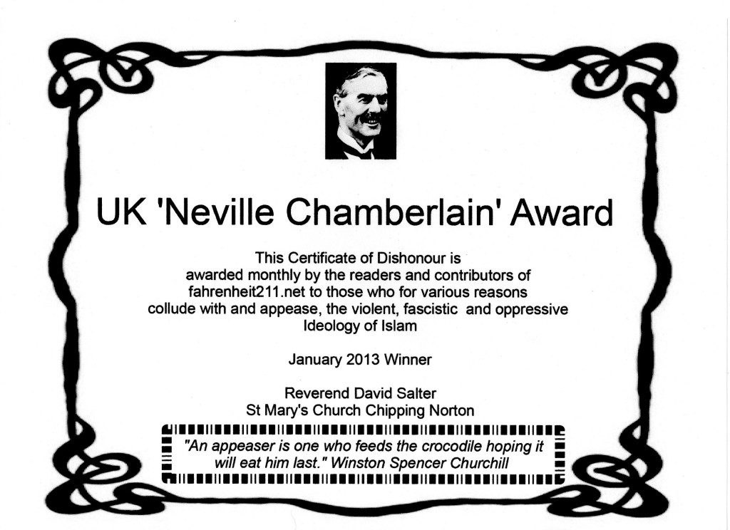 January neville award certificate