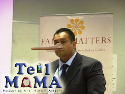 Now what could the Lib Dems possibly have in common with a bunch of lying shysters like those of Tell Mama?