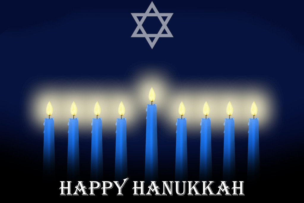 A Happy Chanukah to all this blog's many Jewish readers