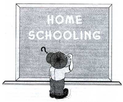 How long will it be before the Lefty Blob in the Education establishment ban or restrict homeschooling?