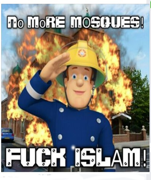 large No more mosques Sam