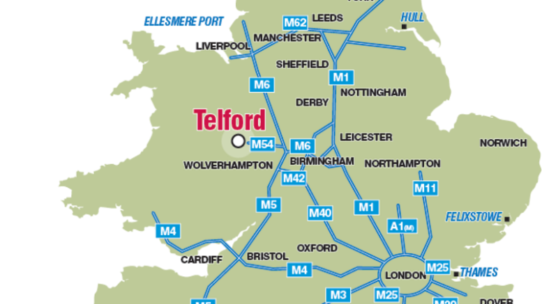 Telford Shropshire another town going the way of Rotherham another