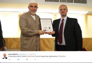 Anas Altikriti and Islamic hate preacher Raed Salah