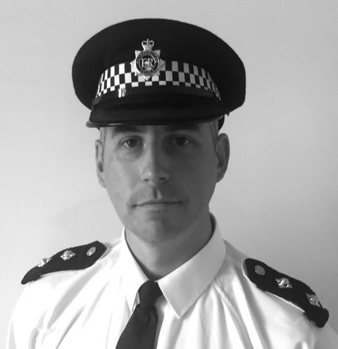 Inspector Matthew Casey who leads the St Pancras and Somers Town Safer Neighbourhood Team and who appears to have managerial responsibility for the officers who engaged in the cleaning and babysitting episode at the mosque