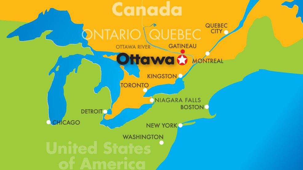 From Elsewhere Canadas Muslim Murder Epidemic Fahrenheit - Capital of canada map
