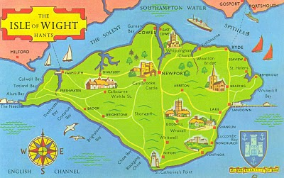 Councillors On Isle Of Wight Dump Dodgy Refugees On Local People - Map of iow